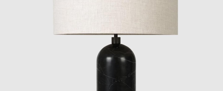 Lampe a poser gravity l noir marbre o41cm p65cm gubi 011 03154 05 normal