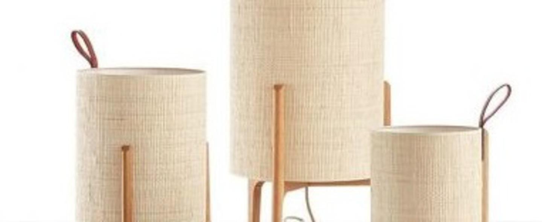 Lampe a poser greta chene fibre o33cm h58cm carpyen normal