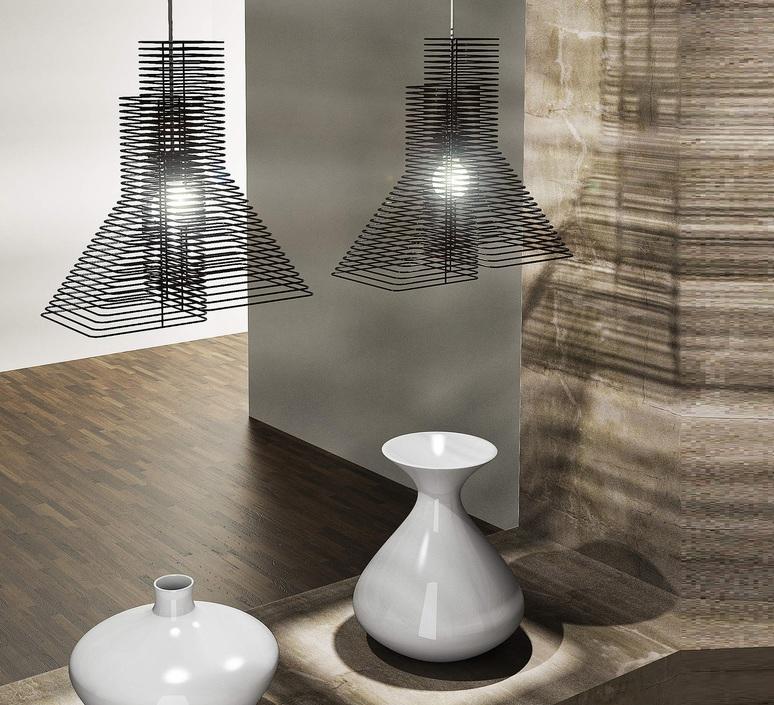 Grown delineodesign zava grown suspension noir 9005 luminaire lighting design signed 17415 product