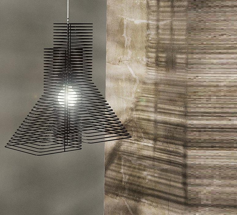 Grown delineodesign zava grown suspension noir 9005 luminaire lighting design signed 17416 product