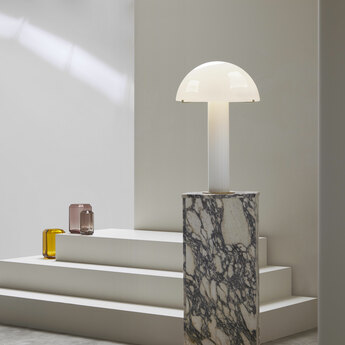 Lampe a poser hanover blanc o39cm h60cm cto lighting normal