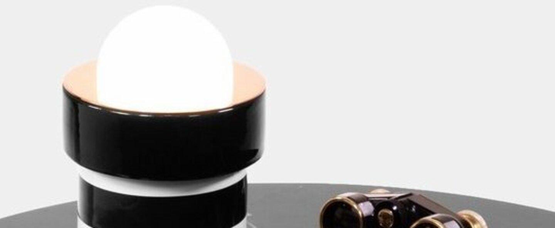 Lampe a poser havana ceramique emaillee o12cm h17cm casalto normal