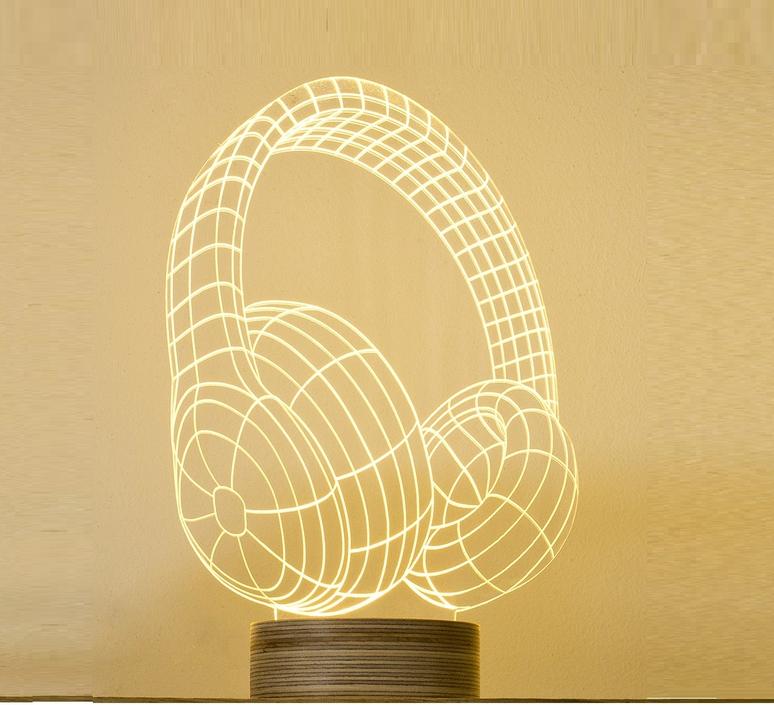 Headphones nir chehanowski studio cheha 1640 h  luminaire lighting design signed 27899 product