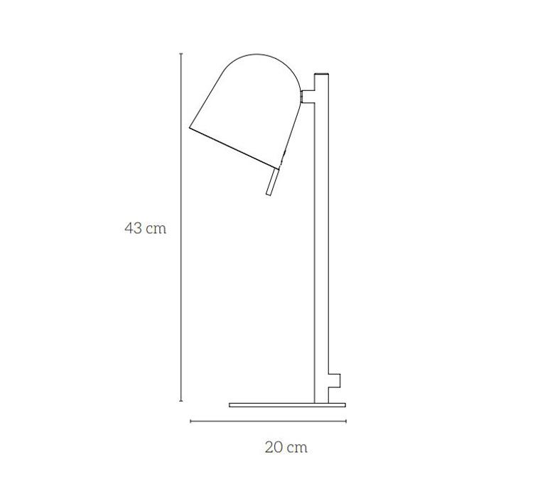 Ho table remi bouhaniche lampe a poser table lamp  eno studio rb01en000031  design signed nedgis 116250 product