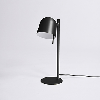 Lampe a poser ho table noir l15cm h43cm eno studio normal