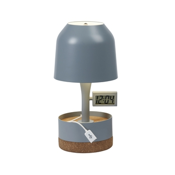 Lampe a poser hodge podge s gris h30cm forestier normal