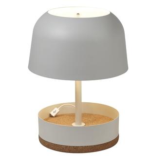 Lampe a poser hodge podge usg blanc h39 5cm forestier normal