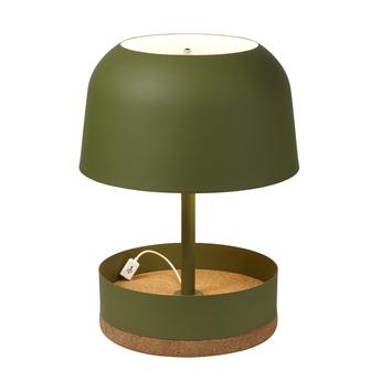 Lampe a poser hodge podge usg vert h39 5cm forestier normal