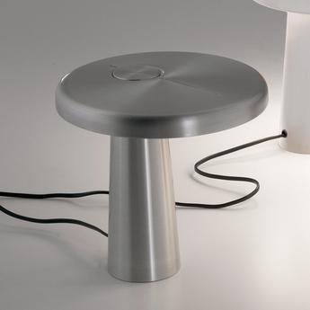 Lampe a poser hoop aluminium o21cm martinelli luce normal