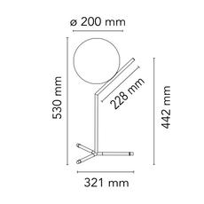 Ic lights table 1 high michael anastassiades lampe a poser table lamp  flos f3170030  design signed nedgis 97639 thumb