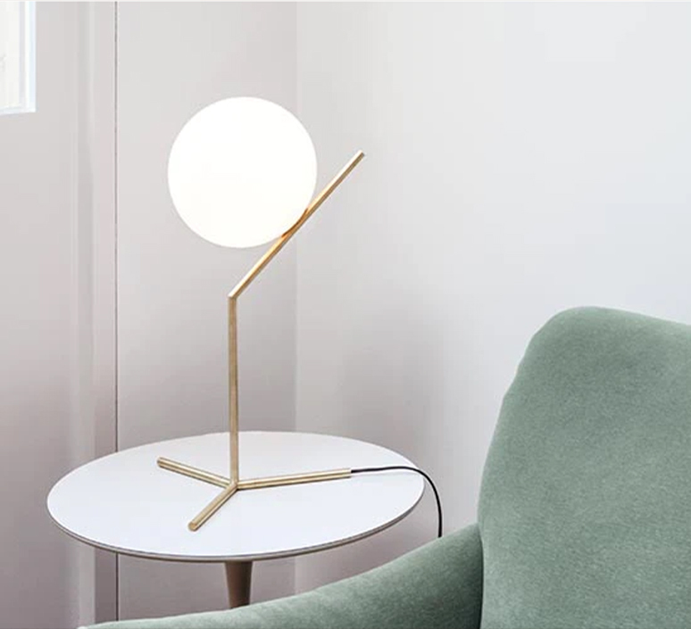 Ic t1 high michael anastassiades flos ic t1 high brass luminaire lighting design signed 97659 product