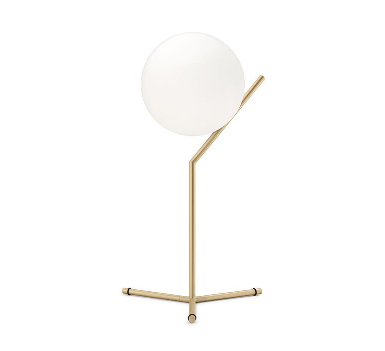 Ic t1 high michael anastassiades flos ic t1 high brass luminaire lighting design signed 97662 product