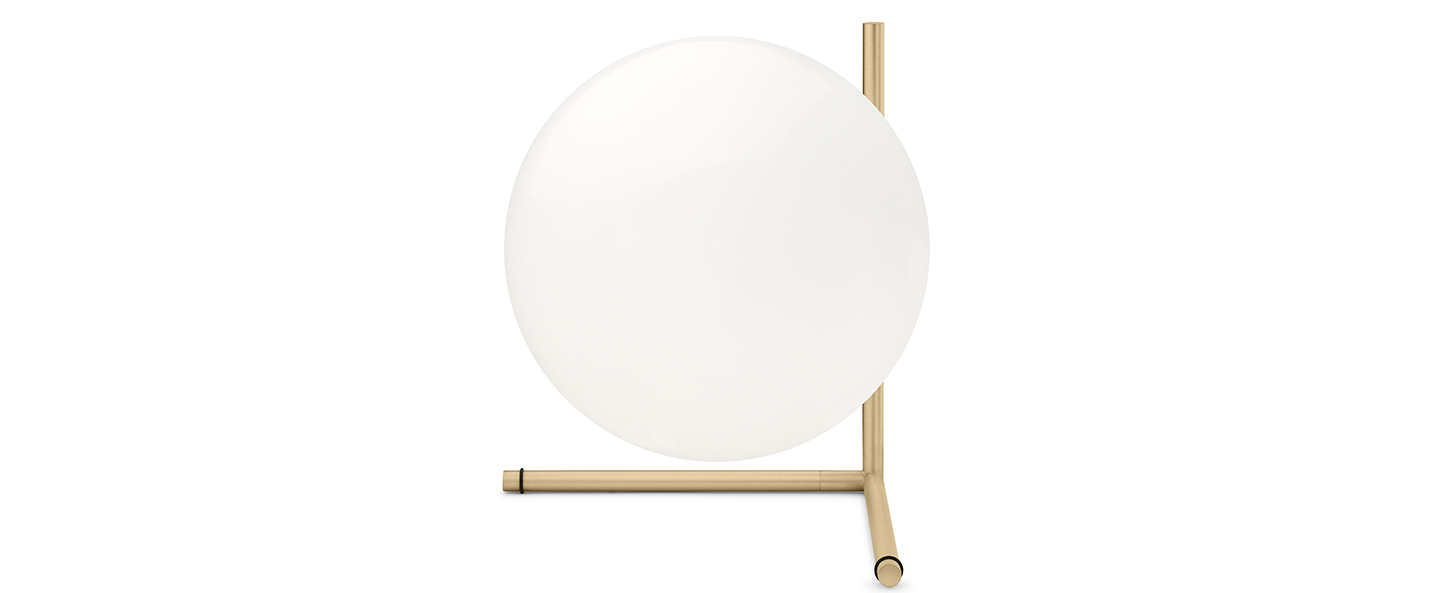 Lampe a poser ic t2 or h35cm flos normal