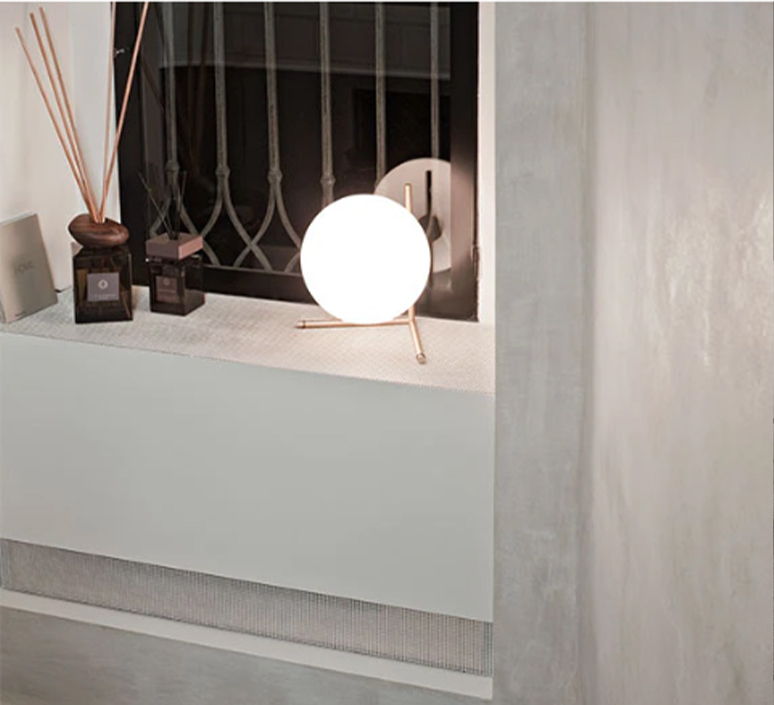 Ic t2 michael anastassiades flos ic t2 brass luminaire lighting design signed 97633 product