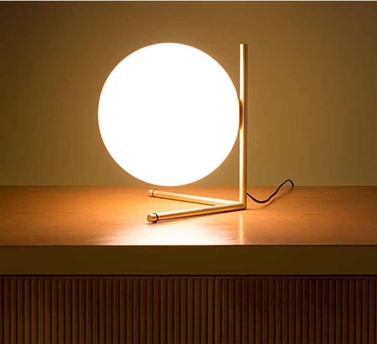 Ic t2 michael anastassiades flos ic t2 brass luminaire lighting design signed 97634 product