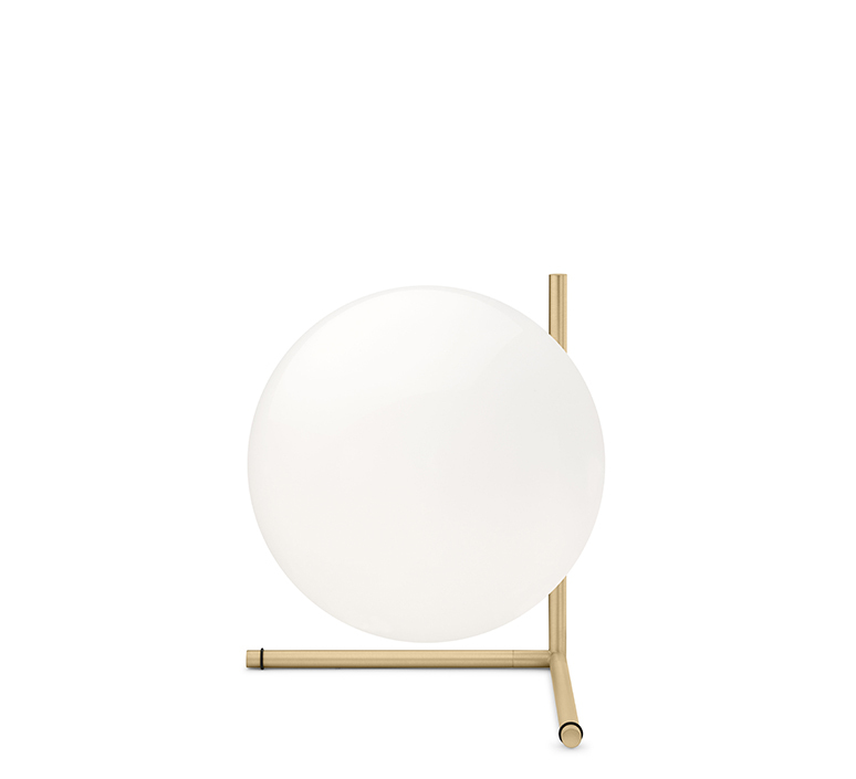Ic t2 michael anastassiades flos ic t2 brass luminaire lighting design signed 97636 product
