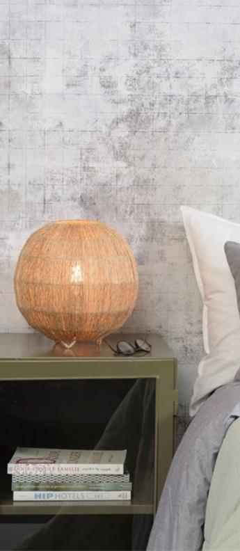 Lampe a poser iguazu naturel o25cm h25cm good mojo normal