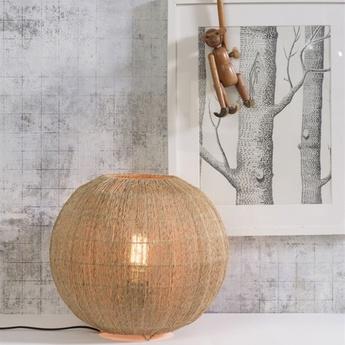 Lampe a poser iguazu naturel o32cm h36cm good mojo normal
