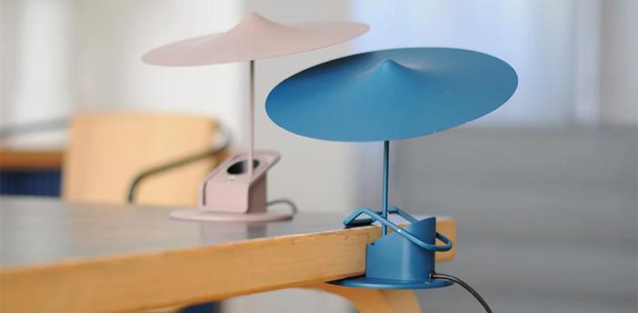 Lampe a poser ile bleu petrole led 2700k 690lm o20cm h19cm wastberg normal