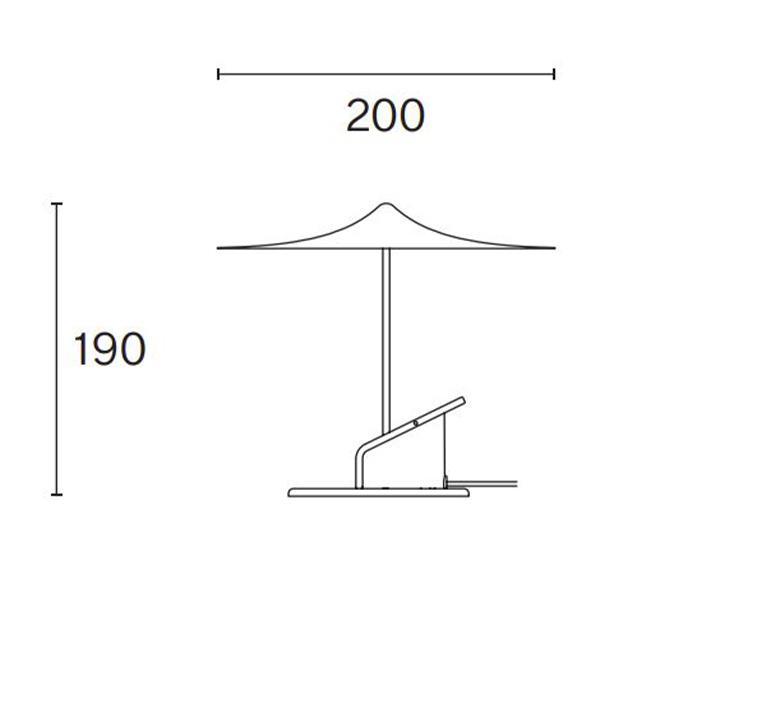 Ile inga sempe lampe a poser table lamp  wastberg 153m11020  design signed nedgis 127047 product