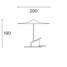 Ile inga sempe lampe a poser table lamp  wastberg 153m11020  design signed nedgis 127047 thumb