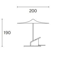 Ile inga sempe lampe a poser table lamp  wastberg 153m19005  design signed nedgis 127038 thumb