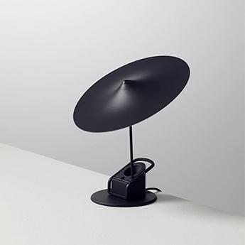 Lampe a poser ile noir fonce led 2700k 690lm o20cm h19cm wastberg normal