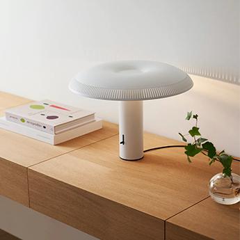 Lampe a poser illumina blanc led 2700k 776lm o40 3cm h30 5cm wastberg normal