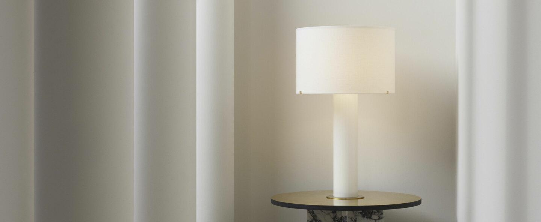 Lampe a poser imperial lin o38cm h66 2cm cto lighting normal