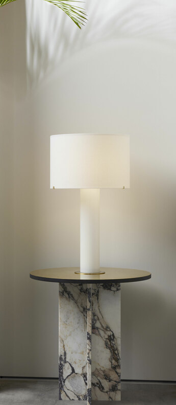 Lampe a poser imperial lin o38cm h66 2cm cto lighting normal
