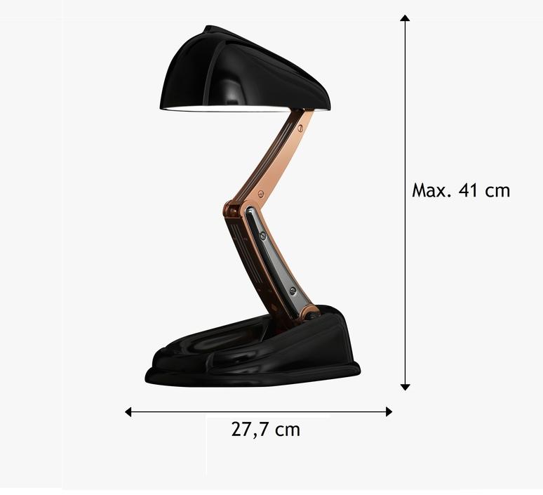 ClassiqueNoirH41cm Lampe Concept New À PoserJumo kPiuTXZO