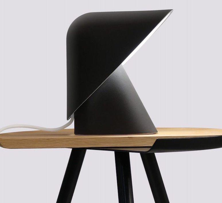 K lamp  studio vitamin lampe a poser table lamp  vitamin klamp noir  design signed 43044 product