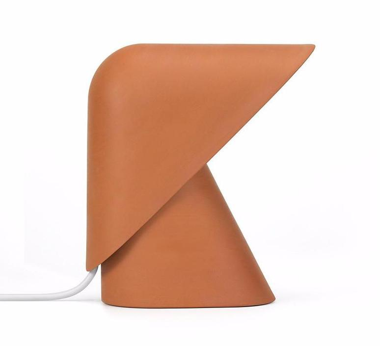 K lamp  studio vitamin lampe a poser table lamp  vitamin klamp terracotta  design signed 43051 product