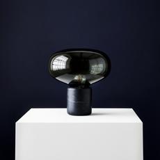 Karl johan marbre verre fume signe hytte lampe a poser table lamp  newworks 20311  design signed 30622 thumb