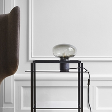 Karl johan marbre verre fume signe hytte lampe a poser table lamp  newworks 20311  design signed 30623 thumb