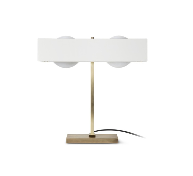 Kernel  lampe a poser table lamp  bert frank kernel table lamp white  design signed 35983 product