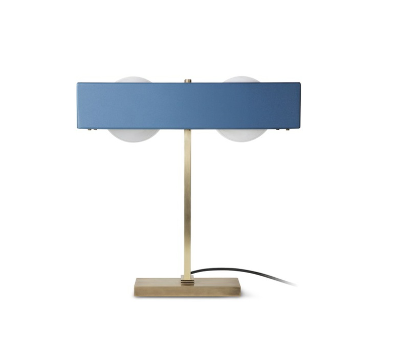 Kernel  lampe a poser table lamp  bert frank kernel table lamp blue  design signed 35985 product