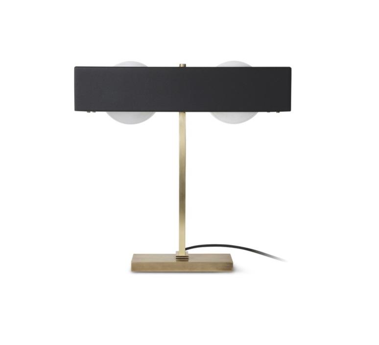 Kernel  lampe a poser table lamp  bert frank kernel table lamp black  design signed 35981 product
