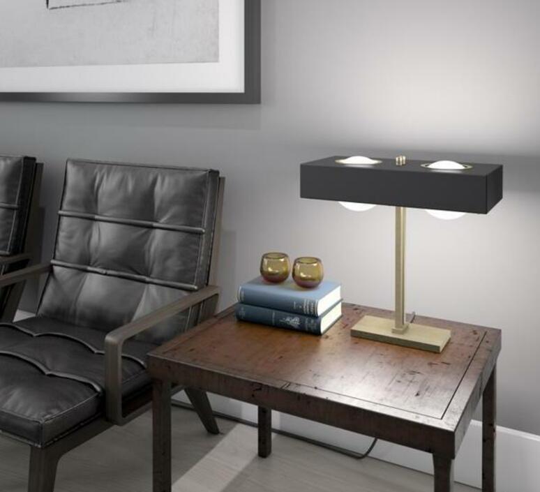 Kernel  lampe a poser table lamp  bert frank kernel table lamp black  design signed 94408 product