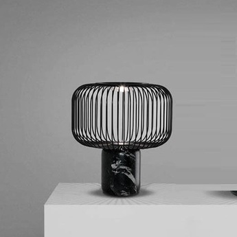 Lampe a poser keshi noir h35cm b lux normal