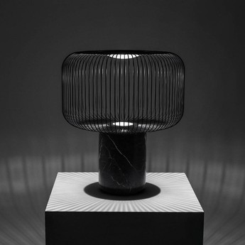 Lampe a poser keshi noir o50cm b lux normal