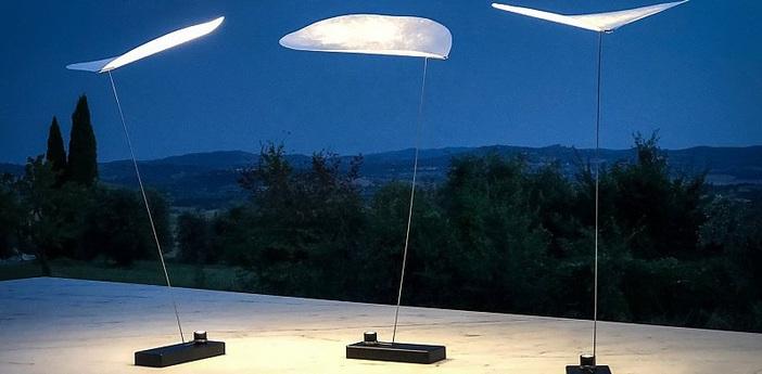 Lampe a poser koyoo noir et blanc led 3000k 240lm o10cm h34cm ingo maurer normal