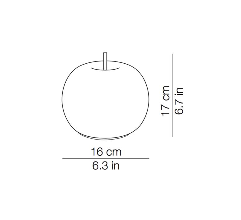 Kushi 16 mobile alberto saggia et valero sommela suspension pendant light  kundalini k2291059o  design signed 38746 product