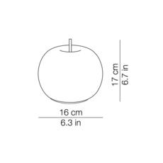Kushi 16 mobile alberto saggia et valero sommela suspension pendant light  kundalini k2291059o  design signed 38746 thumb