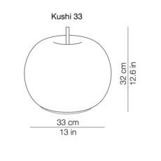 Kushi 33 alberto saggia et valero sommela lampe a poser table lamp  kundalini k222105r  design signed 38755 thumb