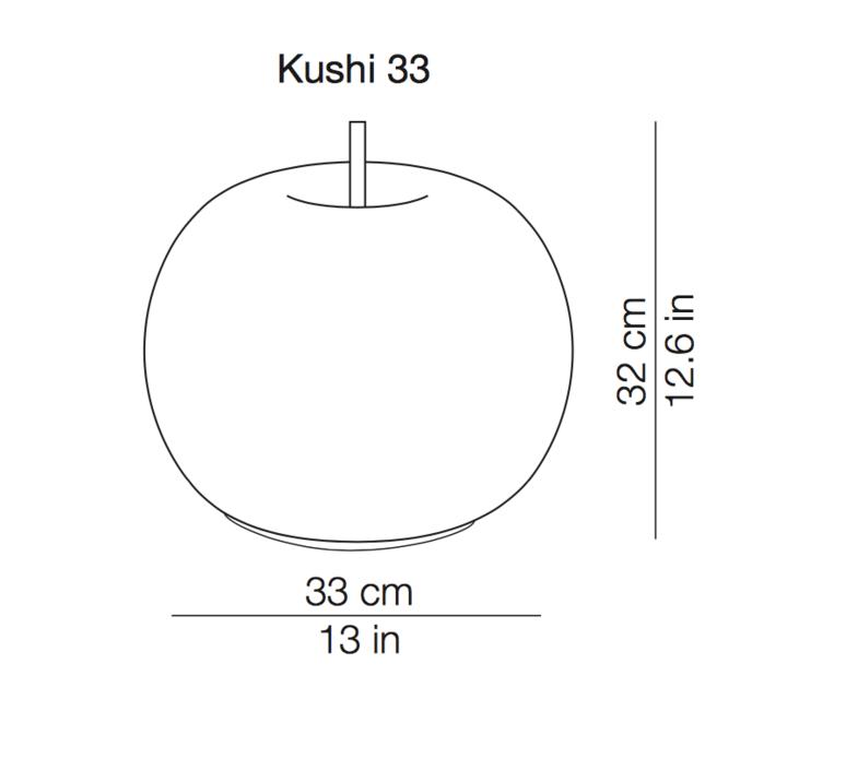 Kushi 33 alberto saggia et valero sommela lampe a poser table lamp  kundalini k222105o  design signed 38758 product