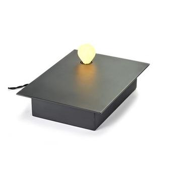 Lampe a poser kvg 01 01 noir l30cm p7cm serax normal