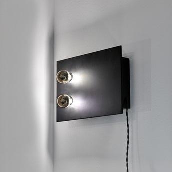 Lampe a poser kvg 01 02 noir l30cm p7cm serax normal