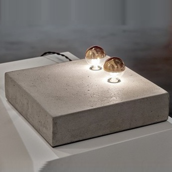 Lampe a poser kvg 02 04 blanc o25cm p6cm serax normal