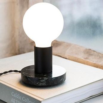 Lampe a poser kvg 19 03 noir vert o11cm h8cm serax normal